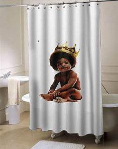 Big notorious big biggie smalls showercurtain