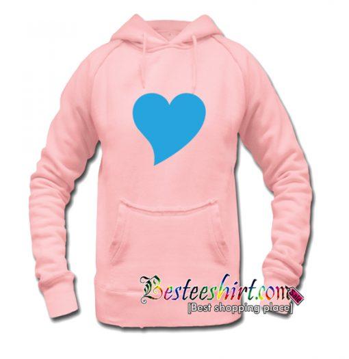 Blue Heart Hoodie