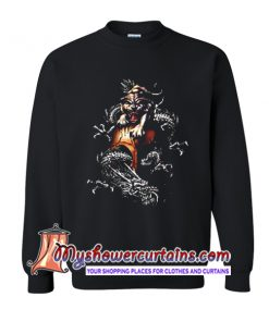 Chinese Tiger and Dragon Sweatshirt