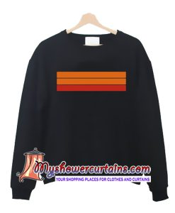 Color Stripe Sweatshirt