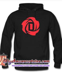 D Rose Logo Hoodie