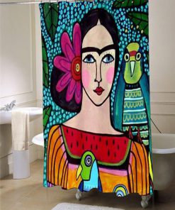 Frida Kahlo Showercurtains