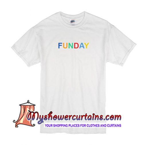 Funday Print T Shirt