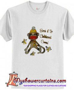 Monkey sock it to T-Shirt
