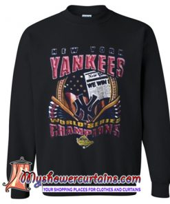 New York Yankees World Series Champion Sweatshirt