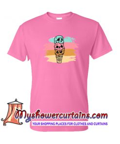 Skull Ice Cream T Shirt