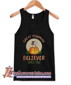 Snoopy great pumpkin believer since 1966 TankTop.jpg