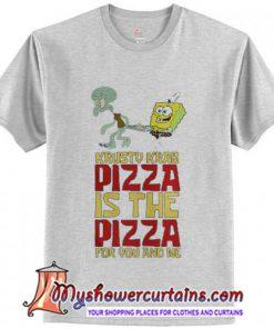 Spongebob Squarepant Krusty Krab Pizza T-Shirt