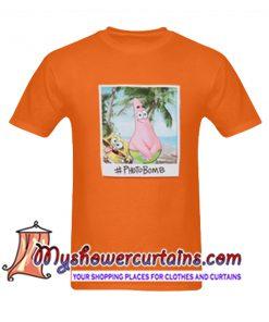 Spongebob and Patrick Photobomb T Shirt