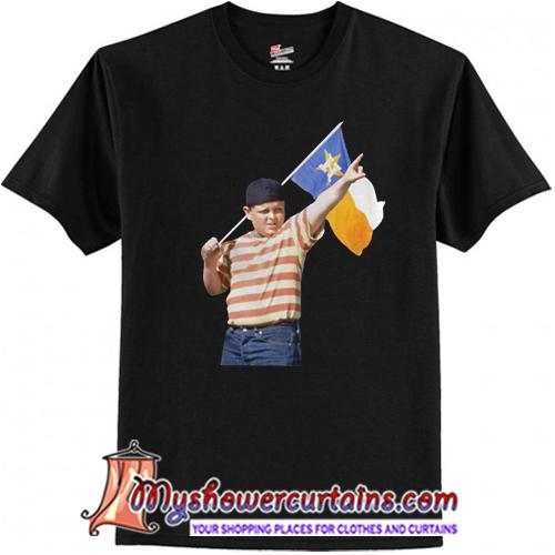 The Sandlot Houston Astros flag shirt