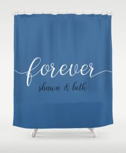 forever shawn and beth Shower Curtain