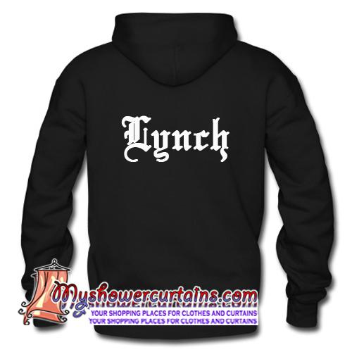 Lynch Font Back Hoodie