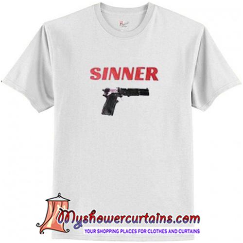 Sinner Gun T-Shirt