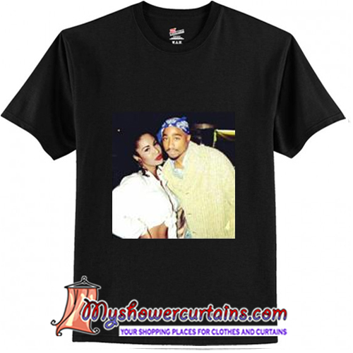 Tupac and selena quintanilla T-Shirt