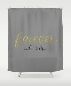forever shawn and beth Shower Curtain1