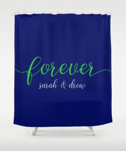 forever shawn and beth Shower Curtain2