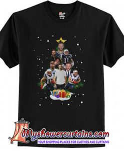 Julian Edelman Christmas Tree T-Shirt