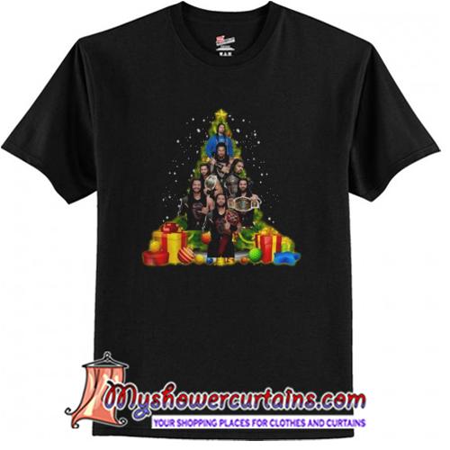 Roman Reigns Christmas Tree T-Shirt