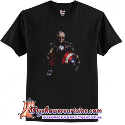 Stan Lee Superhero T-Shirt