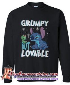 Stitch Grumpy but lovable Sweatshirt