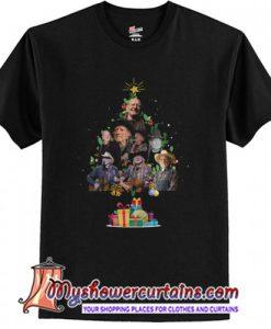 Willie Nelson Christmas Tree T-Shirt