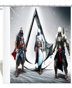 Assassins creed Game shower curtain customized design for home decor (AT)