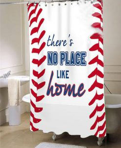 Baseball Shower Curtain Sports Bathroom Decor Fabric Shower Curtain Baseball Bathroom large