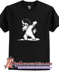 Dabbing Havanese Dog T-Shirt (AT)