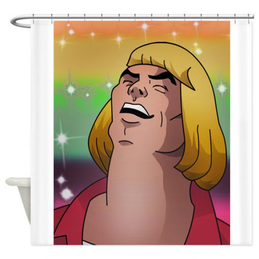 He-Man Sings Shower Curtain AT