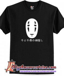 Spirited Away No Face Kaonashi Harajuku T-shirt(AT1)