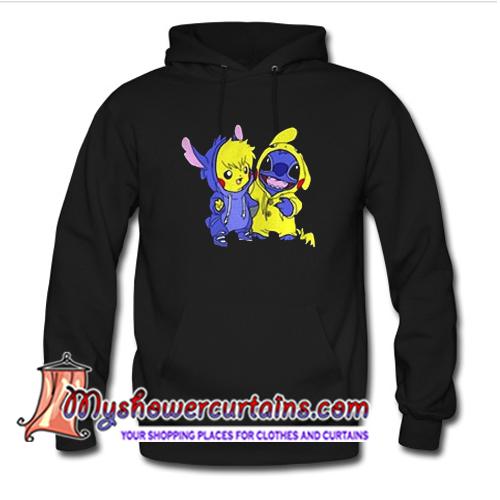 Stitch and Pokemon Hoodie (AT1)