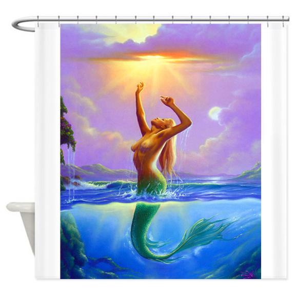 CafePress - Desert! Southwest art! Shower Curtain