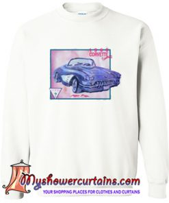 1960 corvette convertible sweatshirt (AT)