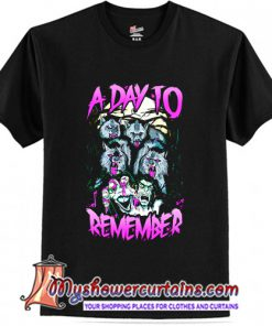 A Day To Remember Wolf T-shirt At