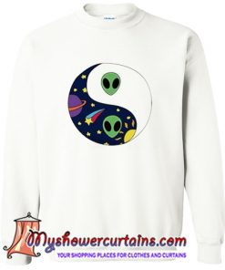 Alien Yin Yang Sweatshirt (AT)