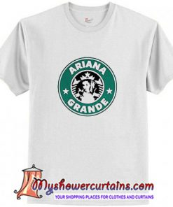 Ariana Grande Starbucks Logo T-Shirt (AT)