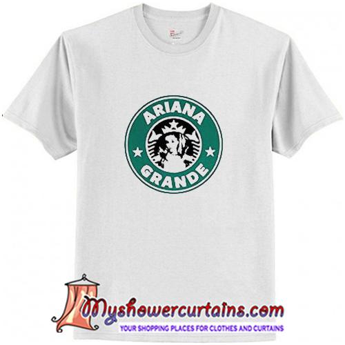 Ariana Grande Starbucks Logo T-Shirt (AT)
