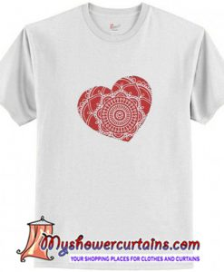 Heart Mandala T-Shirt (AT)