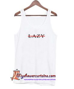 Lazy Cross Line Tank Top (AT)