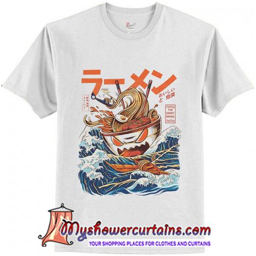 The Great Ramen off Kanagawa T-Shirt (AT)