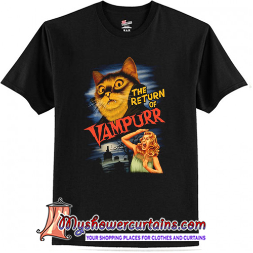 The Return of Vampurr T-Shirt (AT)