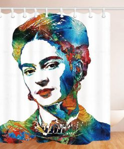2019 Frida Kahlo Shower Curtain At