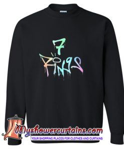 7 Rings Bad Girl Sweatshirt (AT)