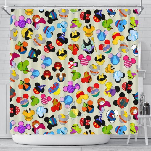 Awesome Character Shower Curtain At