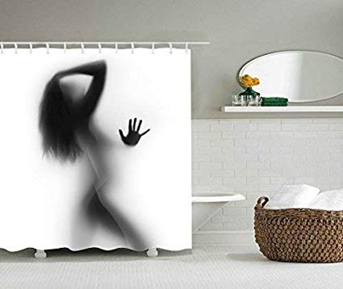 UniTendo Unique Character Style Water Shower Curtain At