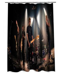 5 Second of summer Shower curtain (AT)