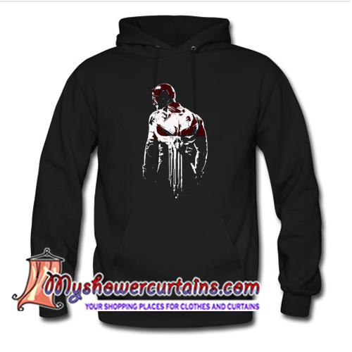 The Defenders Daredevil Punisher Hoodie (AT)