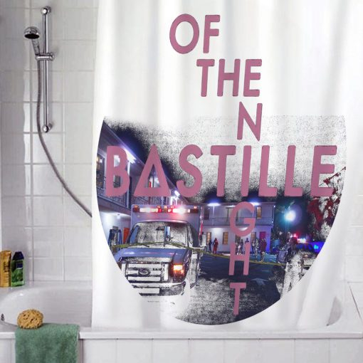 Bastille Of The Night Shower Curtain AT