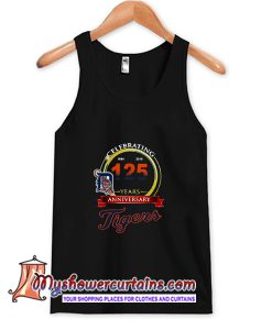 Celebrating 1894 2019 125 Years Anniversary Detroit Tigers Tank Top AT