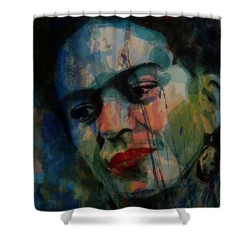 Frida Kahlo Colourful Icon Shower Curtain AT